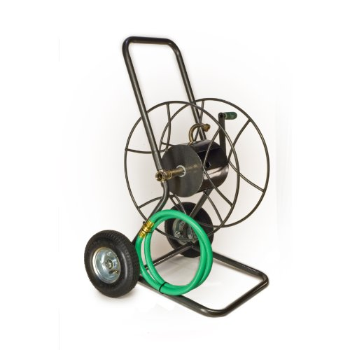Yard Butler IHT-2EZ 2-Wheeled Garden Hose Reel (Hose Wheel Reel 2)