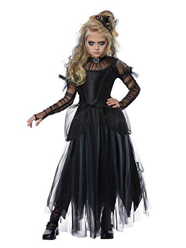 Creepy Girls Halloween Costumes (Dark Princess Girls Costume)