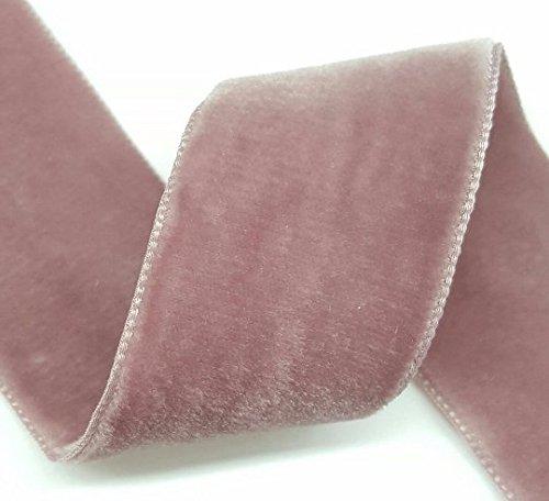 Double Face Nylvalour Swiss Velvet Nylon Ribbon, 1.5