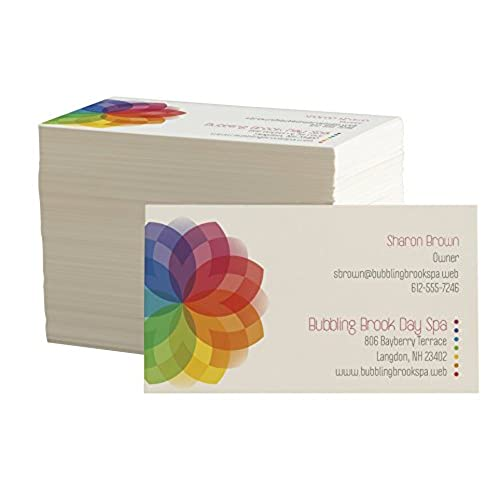 Personalized business cards amazon design your own business cards from vistaprint front and back colourmoves