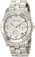 Marc Jacobs Blade SS Chronograph Bracelet Women's Watch - MBM3100 from Marc Jacobs