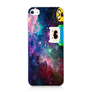 Jake Finn Amazed Nebula Hipster Adventure Time Case Cover for Iphone 5 5s 2013 NEW