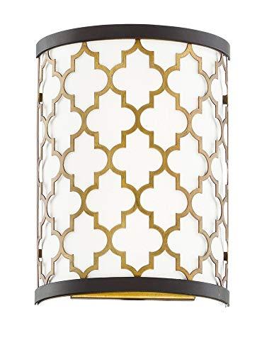 - Maxim Lighting 20299WLOIAB Crest Pendant Light Oil Rubbed Bronze/Antique Brass