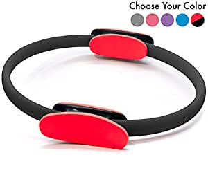Pilates Ring – Premium Magic Circle , With Carrying Bag , Tool For Finding Your Center + Bonus eBook