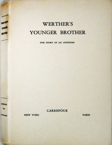Amazon.com: Werthers Younger Brother: The Story Of An ...