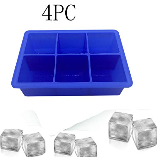 Sunnyys 4PC Party Special Ice Cube Creative Household Food Grade Silicone Ice Tray (Best Gas Pole Saw 2019)