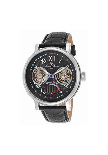 Lucien Piccard Men's LP-15039-01 Matador Analog Display Automatic Self Wind Black Watch