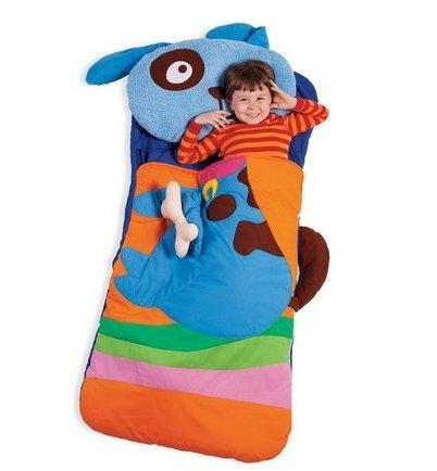 Amazoncom Sillies Billy The Dog With Bone Kids Animal Sleeping Bag