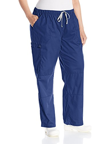 WonderWink Womens Wonderwork Straight Cargo