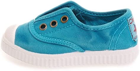 Toddler//Little Kid//Big Kid Cienta Kids Canvas Slip On Sneakers For Girls and Boys