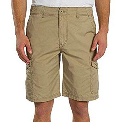 UNIONBAY Men's Medford Lightweight Cotton Cargo Short (42, Grain)