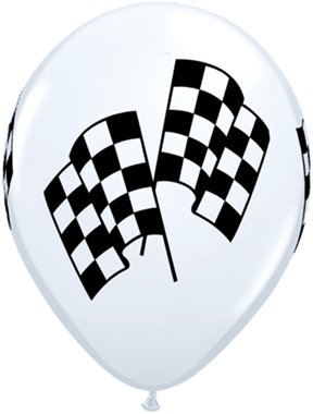 checkered-flag-car-nascar-stock-race-6-latex-deluxe-quality-helium-balloons