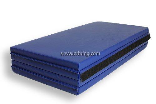 Bonded Foam Gymnastics Mat 4 X 8 X 2 Quot Blue By Orbring