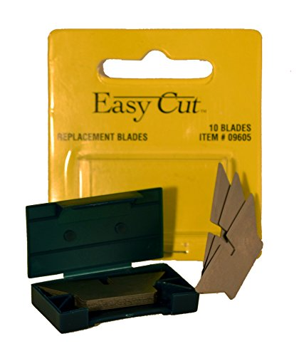 Easy Cut 10 Count Standard Replacement Blades Series (10 Blades in a - Safety Blade Cutter Replacement