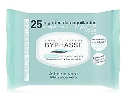 Byphasse Toallitas Desmaquillante Piel Sensible 25 Unidades