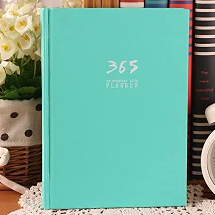 Amazon.com : Korean Fashion Cute 365 Day Planner Hardcover ...