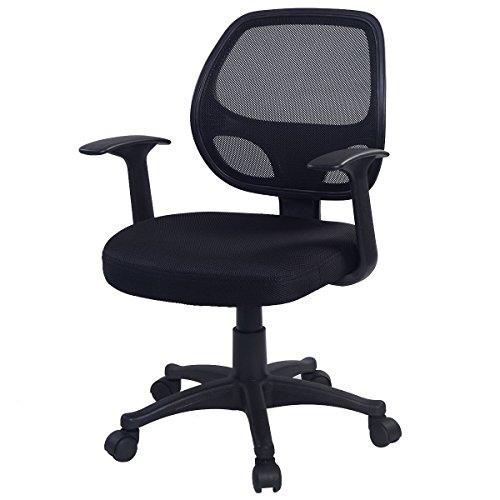 Giantex Adjustable Ergonomic Mesh Swivel Computer Office Desk Mid-back Task Chair