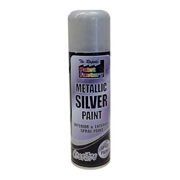 Paint Auto 250ml Spray Can Metallic Silver Car