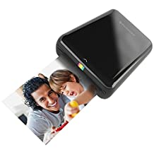 Polaroid ZIP Mobile Printer w/ZINK Zero Ink Printing Technology – Compatible w/iOS & Android Devices - Black