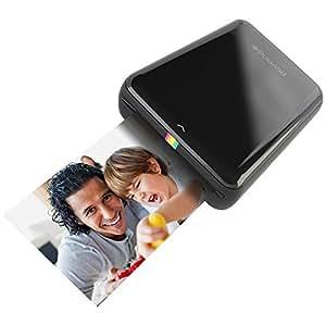 Polaroid ZIP - Impresora móvil (Bluetooth, NFC, micro USB, tecnología ZINK Zero Ink, 5 x 7.6 cm, compatible con iOS y Android), color negro