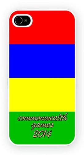 Mauritius Commonwealth Countries, iPhone 6, Etui de téléphone mobile - encre brillant impression