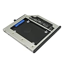 Nimitz 2nd HDD SSD Hard Drive Caddy for Lenovo Thinkpad T400 T400s T410 T410s T420s T430s T500 W500