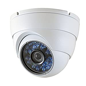 SmoTecQ HD 700TVL SONY Color CCD Dome Security Cameras Day Night Vision CCTV 24 Infrared Outdoor Vandal Proof 3.6mm Wide View Angle Video Surveillance