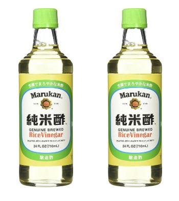 Marukan Rice Vinegar, 24 Ounce (Pack of 2)