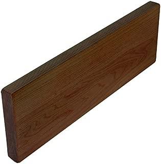 "product image for John Boos Walnut Straight Backsplash For Wood Countertops, 36"" W x 3/4"" D x 4"" H, Oil Finish"