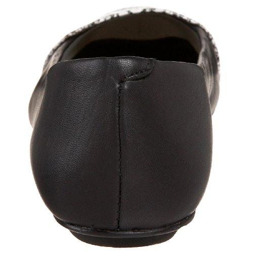 Franse Zool Fs / Ny Dames Asp Vlakke Zwarte Handschoen Met Slang
