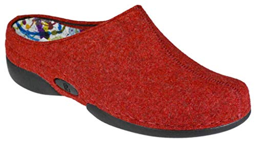 Lorena Berkemann Damen Berkemann Damen Pantoffeln Lorena Rot Berkemann Pantoffeln Rot Lorena Pantoffeln Damen A4EqnYx