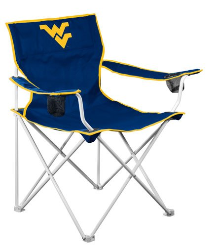 (NCAA West Virginia Mountaineers Deluxe Folding Chair)