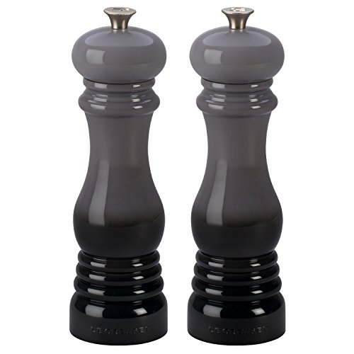 Le Creuset Oyster Salt and Pepper Mill Set