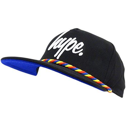 HYPE - Gorra de béisbol - Básico - para Hombre Negro Negro