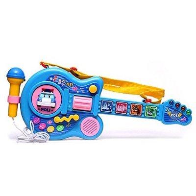 Robocar poli, poli guitar / musical instrument toys / korean toy /
