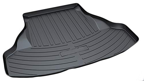 (Cargo Liner Rear Cargo Tray Trunk Floor Mat Waterproof Protector for 2013-2017 Honda Accord by)