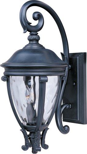 Maxim Lighting 41425WGBK Camden Outdoor Sconce