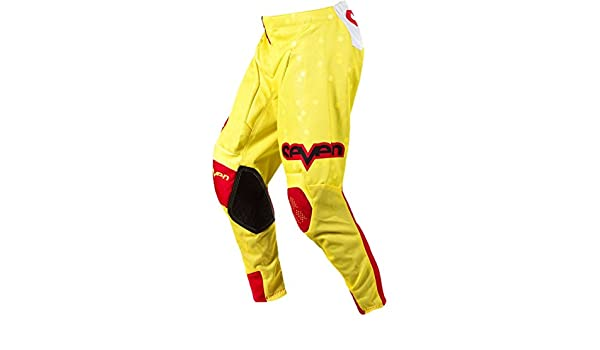 Amazon.com  Seven Rival Vert Youth Boys Dirt Bike Motorcycle Pants - Red  Yellow Size 28  Automotive 0e7f30a24