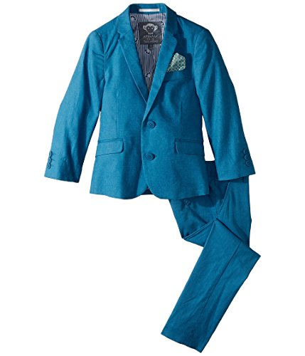 Appaman Kids Baby Boy's Two-Piece MOD Suit (Toddler/Little Kids/Big Kids) Teal 7 -