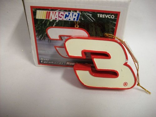 Dale Earnhardt Christmas Ornament - Dale Earnhardt Sr. #3 Number NASCAR Christmas Ornament