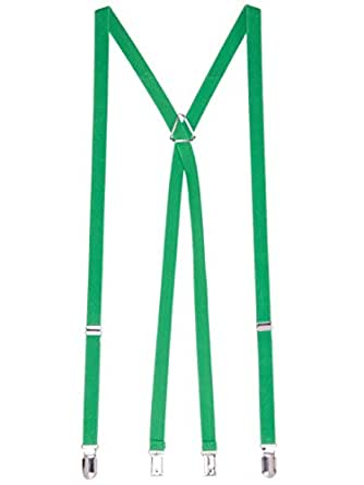 American Apparel Women's Unisex Suspender One Size Green