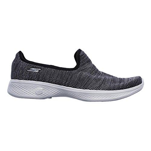Gray Go Skechers 4 Black Walk Slip Select ONS wA0Zx0nra