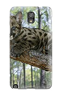 High Grade ChrisWilliamRoberson Flexible Tpu Case For Galaxy Note 3 - Lion Picture