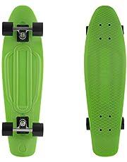 "Retrospec Quip Skateboard 27"" Classic Plastic Cruiser Complete Skateboard"