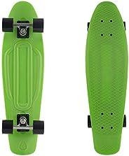 "Retrospec Quip Skateboard 22.5"" & 27"" Classic Plastic Mini Cruiser Comple"