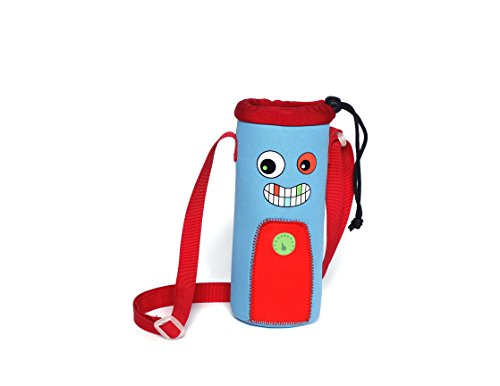 Nohoo Kids Owl Backpack 3D Cute Zoo Cartoon School Boys Girls Twins Bags (Water Bottle (Free Water Bottle)