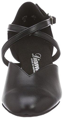 113 Femme 009 Danse Tanzschuhe Diamant Chaussures Damen Salon Noir De 034 q6HxEzA
