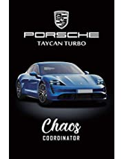 Porsche Taycan Turbo Chaos Coordinator: To Do List & Graph Paper, Checklist Notebook, Daily and Weekly Planner