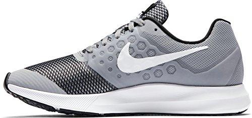 Nike Boy Downshifter 7 Sportschuh Grau weiß