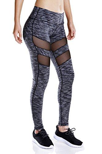 Zerozero - Legging de sport - Femme gris gris foncé